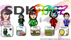 SDK Spriter Title Screen